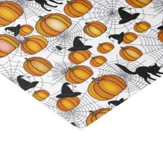 Papier Mousseline Halloween démodé avec les citrouilles oranges
