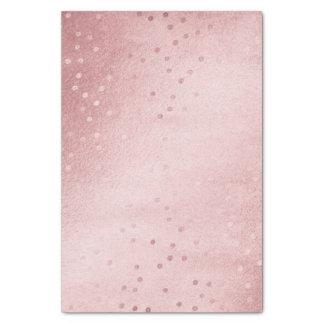 Papier Mousseline Joli rose de licorne d'aquarelle et accents roses
