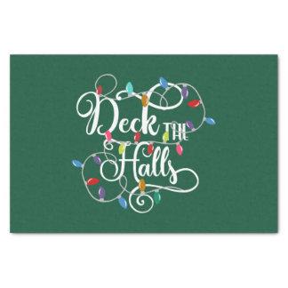 Papier Mousseline la plate-forme les vacances de halls allume Noël