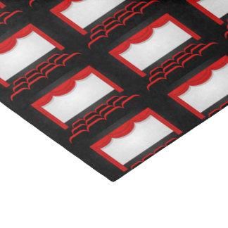 Papier Mousseline La salle de cinéma a couvert de tuiles le tissu de