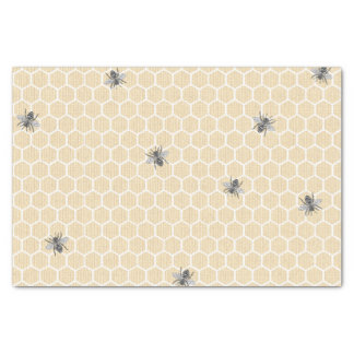 Papier Mousseline Le nid d'abeilles vintage rustique gaffent