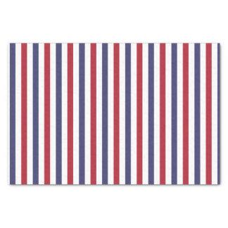 Papier Mousseline Les Etats-Unis marquent le rouge et marquent les
