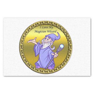 Papier Mousseline Magicien magique de pourpre de sorcière de