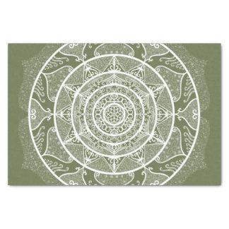 Papier Mousseline Mandala de mousse