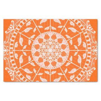 Papier Mousseline Mandala de pavot