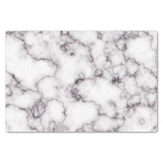 Papier Mousseline Marbre blanc et gris