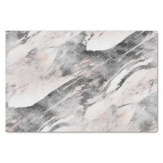 Papier Mousseline Mariage de marbre noir et gris moderne