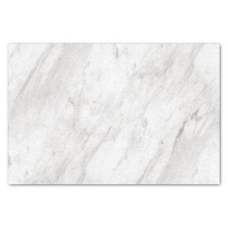 Papier Mousseline Mariage élégant de marbre blanc et gris