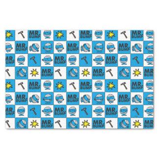 Papier Mousseline Mosaïque de M. Bump | dans le motif bleu