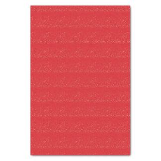 """Papier Mousseline Motif 10"""" de tache de rouge de brique X 15"""" papier"""