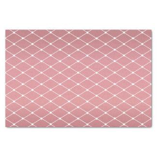 Papier Mousseline Motif assez poussiéreux rose et de diamant