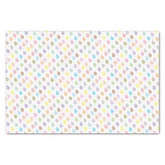 Papier Mousseline Motif coloré de feuille