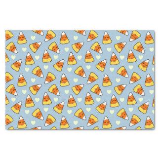 Papier Mousseline Motif de bonbons au maïs et de coeur