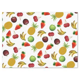 Papier Mousseline Motif de fruit