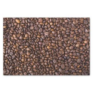 Papier Mousseline Motif de grains de café