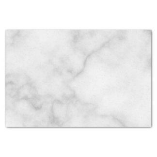 Papier Mousseline Motif de marbre blanc élégant chic