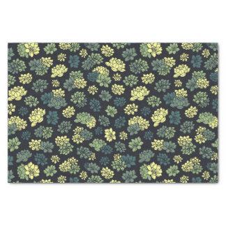 Papier Mousseline Motif de Succulents