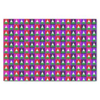 Papier Mousseline Motif génial d'arbre de Noël