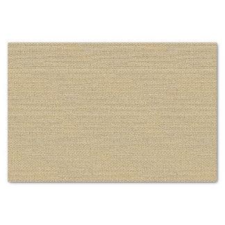 Papier Mousseline Motif kaki de texture de toile de jute de Faux de