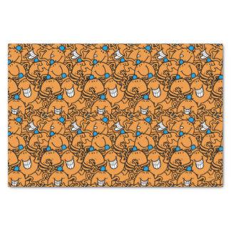Papier Mousseline Motif orange de chatouillement de M. Tickle |