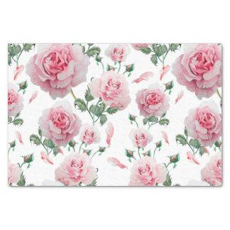 Papier Mousseline Motif rose de roses de dispersion