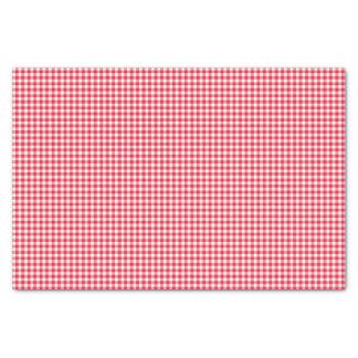 Papier Mousseline Motif rouge de contrôle de guingan de pays