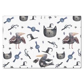 Papier Mousseline Motifs peints par Halloween mignons (Customizeable