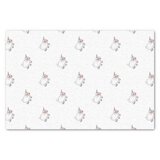 Papier Mousseline Moutons de licorne
