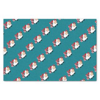 Papier Mousseline Moutons mignons lunatiques drôles de Noël