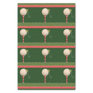 Papier Mousseline Noël de golf