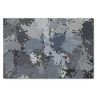 Papier Mousseline Nuances d'éclaboussure grise