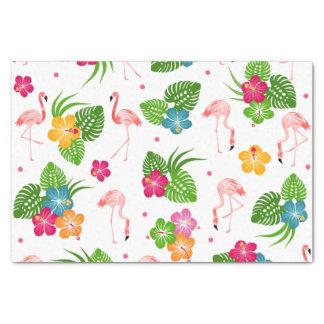Papier Mousseline Oiseaux de flamant