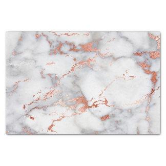 Papier Mousseline or rose et pierre de marbre blanche