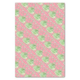 Papier Mousseline Palmier de point de polka de rose de papier de