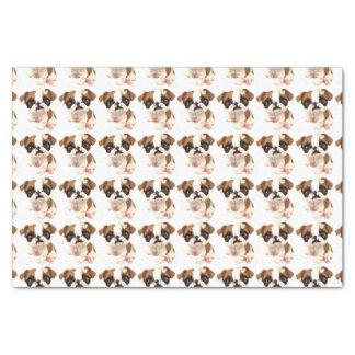 Papier Mousseline Papier d'emballage de tissu anglais de bouledogue