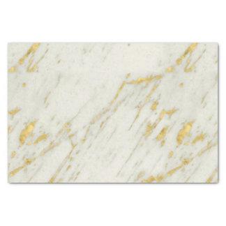 Papier Mousseline Parties scintillantes repérées d'or au-dessus du