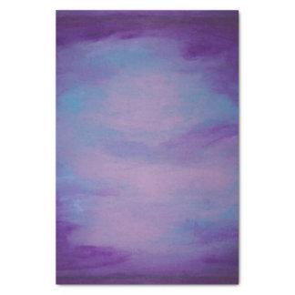 Papier Mousseline Pastel bleu assez pourpre frivole du rose | de la