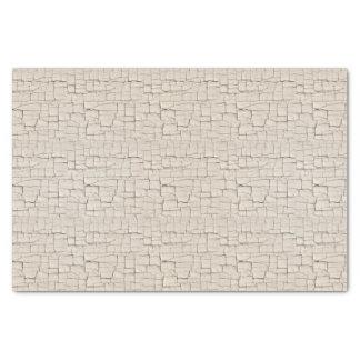 Papier Mousseline Peinture blanche antique de craquement