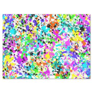 Papier Mousseline Peinture d'éclaboussure