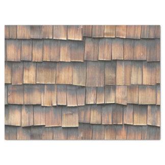 Papier Mousseline Photographie abstraite âgée de bardeaux en bois