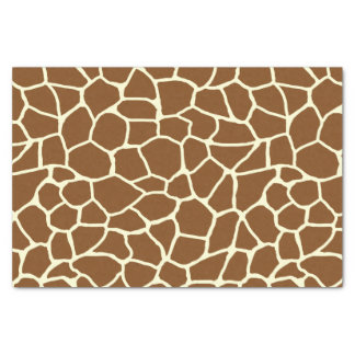 Papier Mousseline Poster de animal sauvage de motif de girafe
