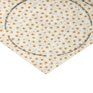 Papier Mousseline Pot Topper de fleur de camomille