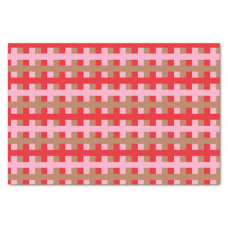 Papier Mousseline Rouge abstrait, rose et Brown