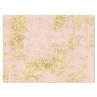 Papier Mousseline Rougissent la grunge rose d'or