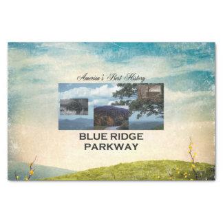Papier Mousseline Route express bleue d'ABH Ridge