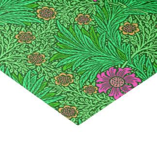 Papier Mousseline Souci de William Morris, vert vert et fuchsia