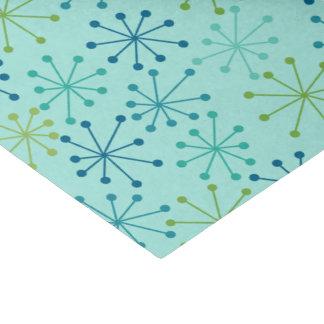 Papier Mousseline Starbursts Teal