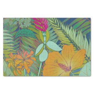 Papier Mousseline Tapisserie tropicale II