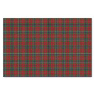 Papier Mousseline Tartan MacLean moderne écossais de Maclean de