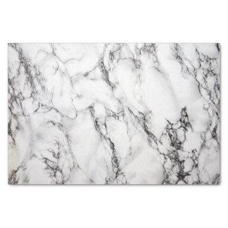 Papier Mousseline texture en pierre de marbre noire et blanche